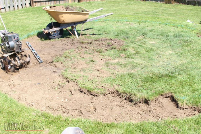 leveling ground for pool