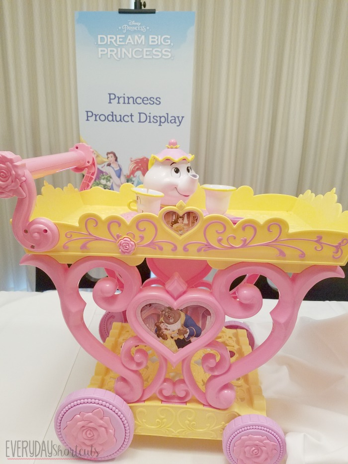 beauty and the beast cart