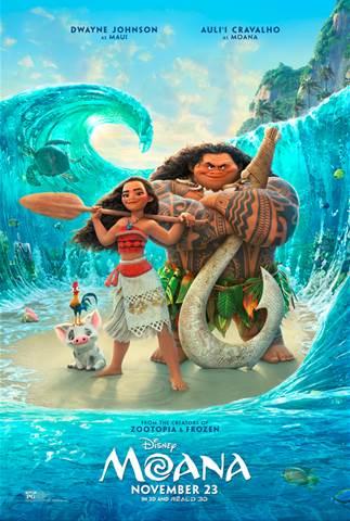 Official Disney Moana Trailer
