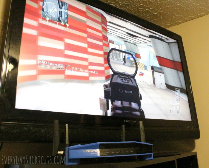 gaming-with-linksys-router