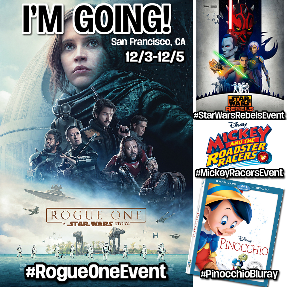 I am Headed to the Rogue One Star Wars Event