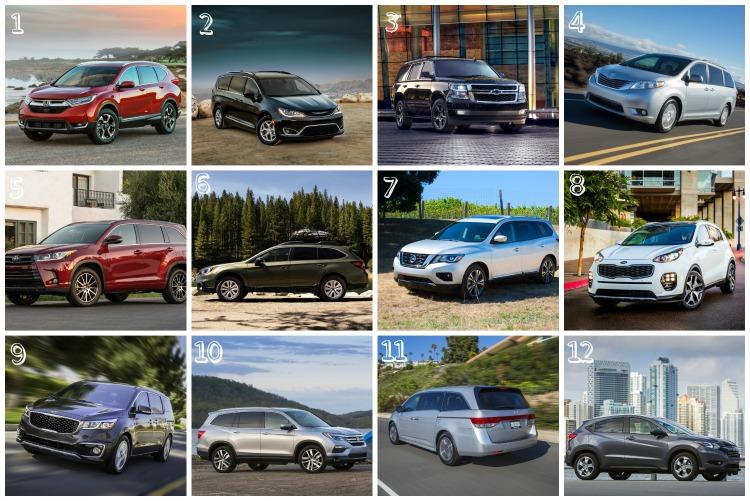 12 Best Family Cars of 2017