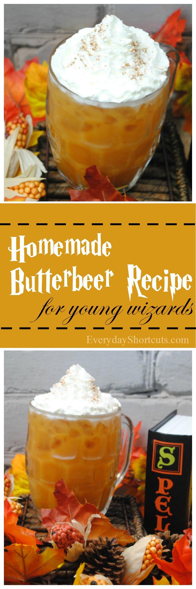 homemade butterbeer recipe