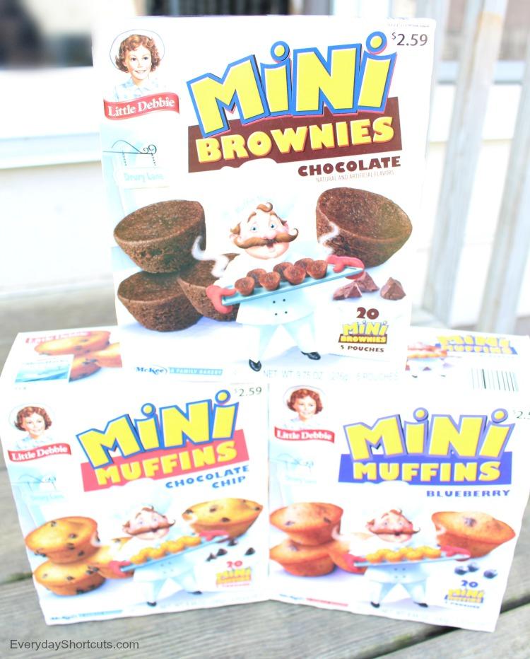 little debbie mini muffins