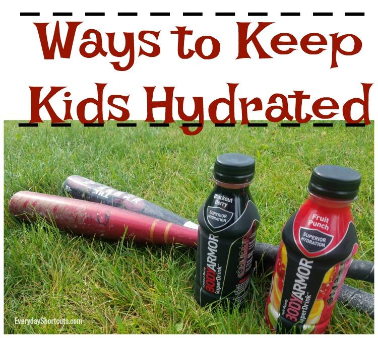 ways to keep kids hydrated