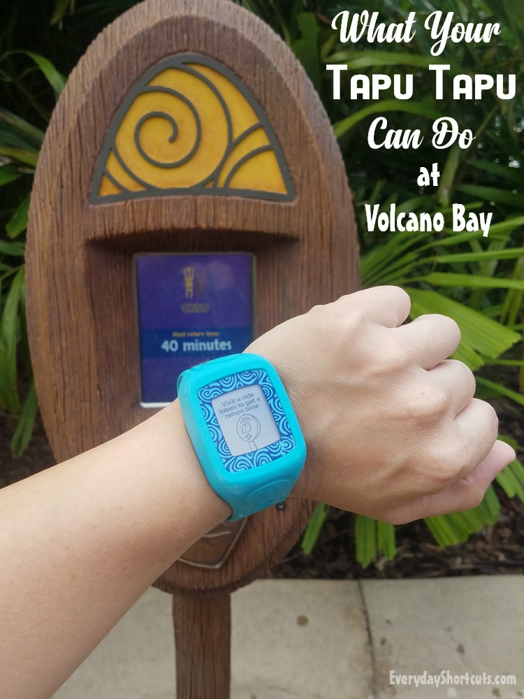 What Your Tapu Tapu Can Do at Volcano Bay