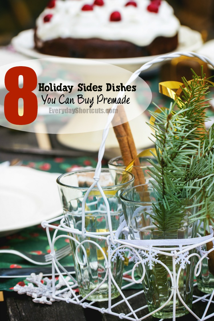 8 Holiday Side Dishes You Can Buy Premade