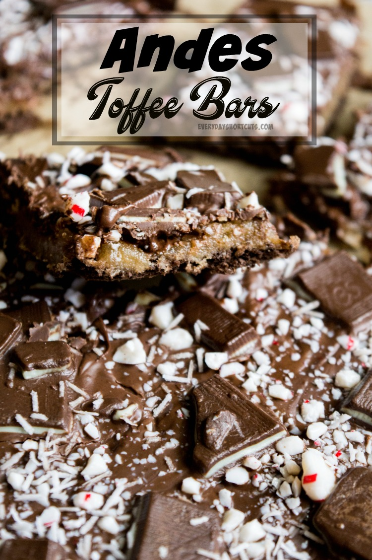 Andes Toffee Bars