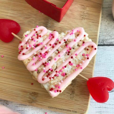 Cupid's Heart Rice Krispies