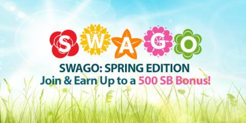 Earn Swagbucks with Swago: Spring Edition