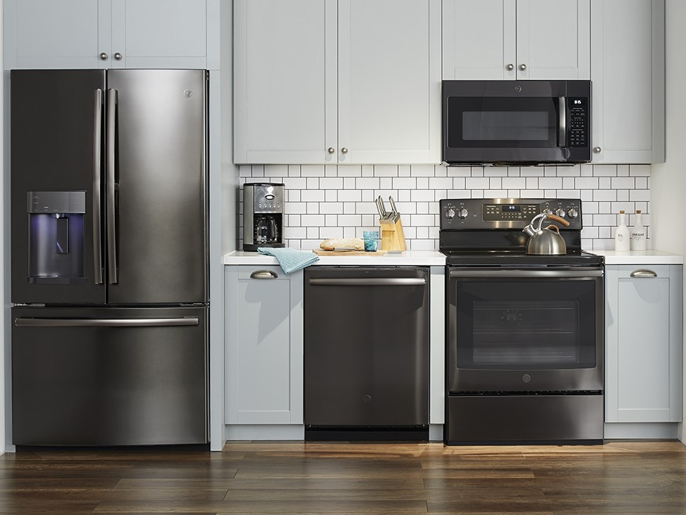 GE Black Stainless Finish Appliances