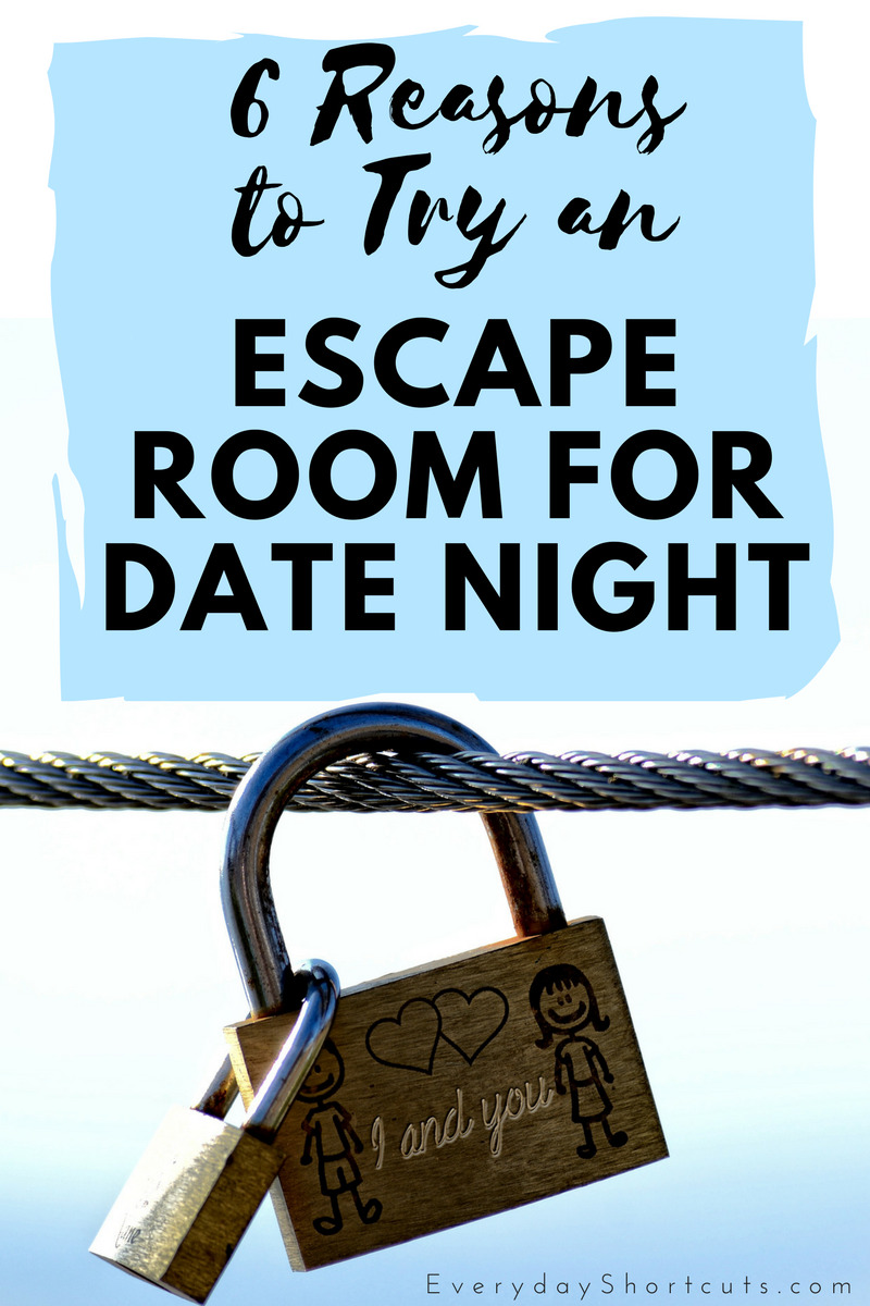 6 Reasons to Try an Escape Room for Date Night