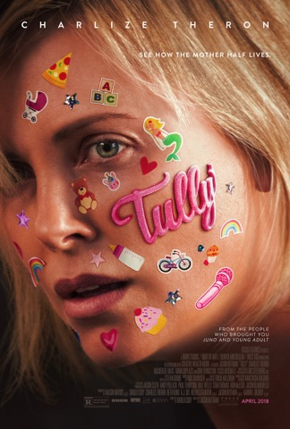Tully Movie Trailer & Poster featuring Charlize Theron