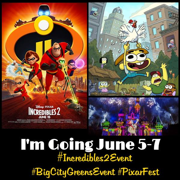 Summer Begins with an INCREDIBLE Journey to the Incredibles 2 Event