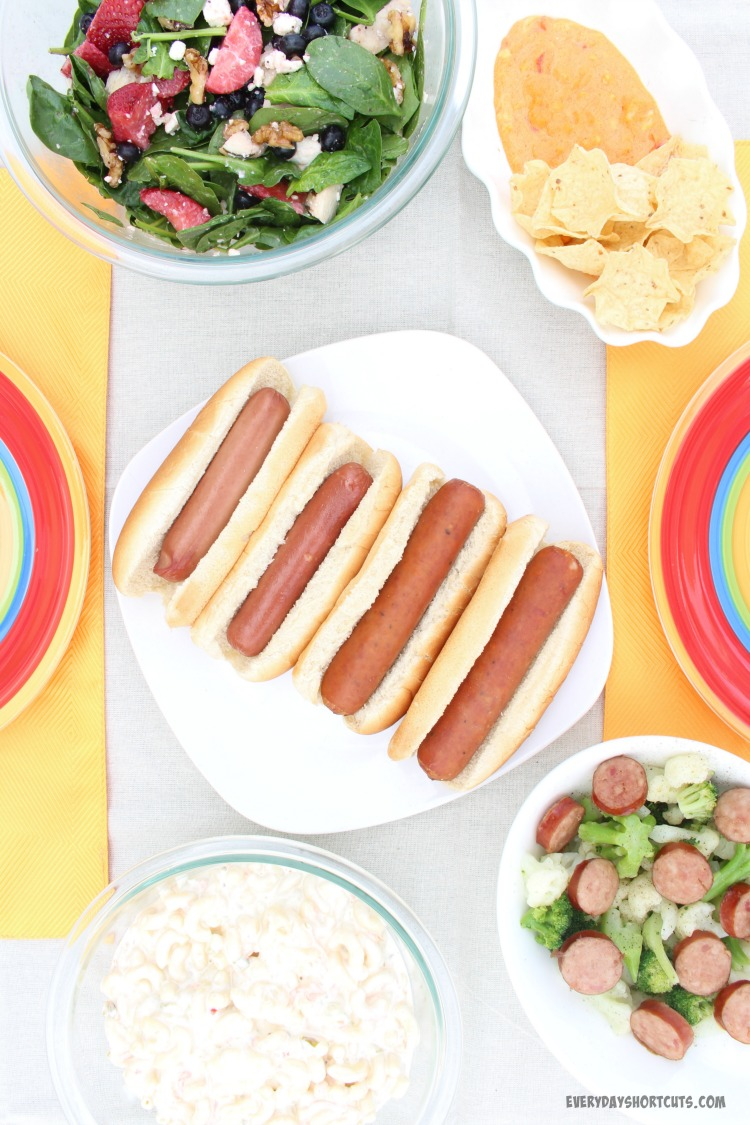 Simple Recipes for a Summer Party