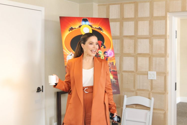 Sophia Bush as New Superhero Voyd in Incredibles 2