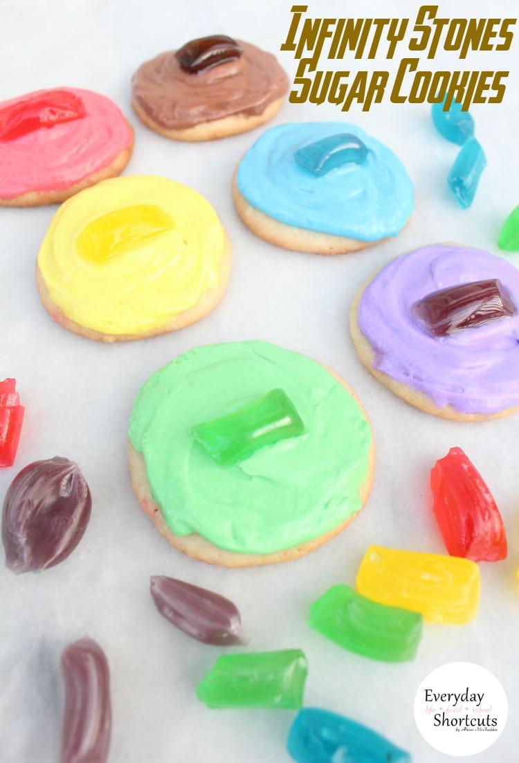 Infinity Stones Sugar Cookies