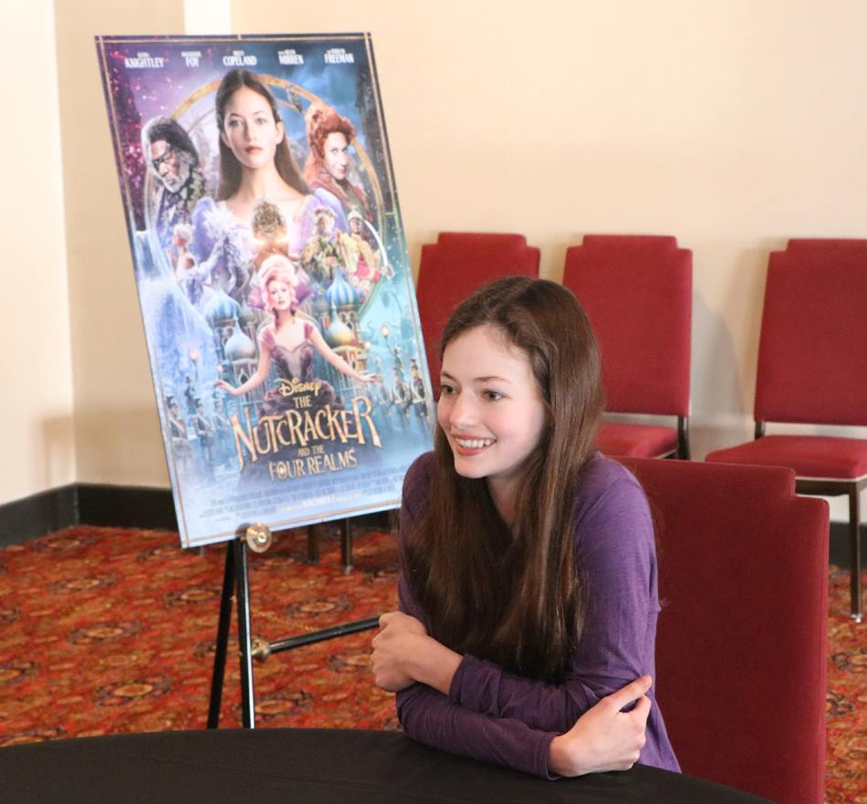 Exclusive Interview with Mackenzie Foy As Clara