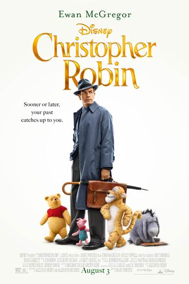 Disney's Christopher Robin Now on Bluray