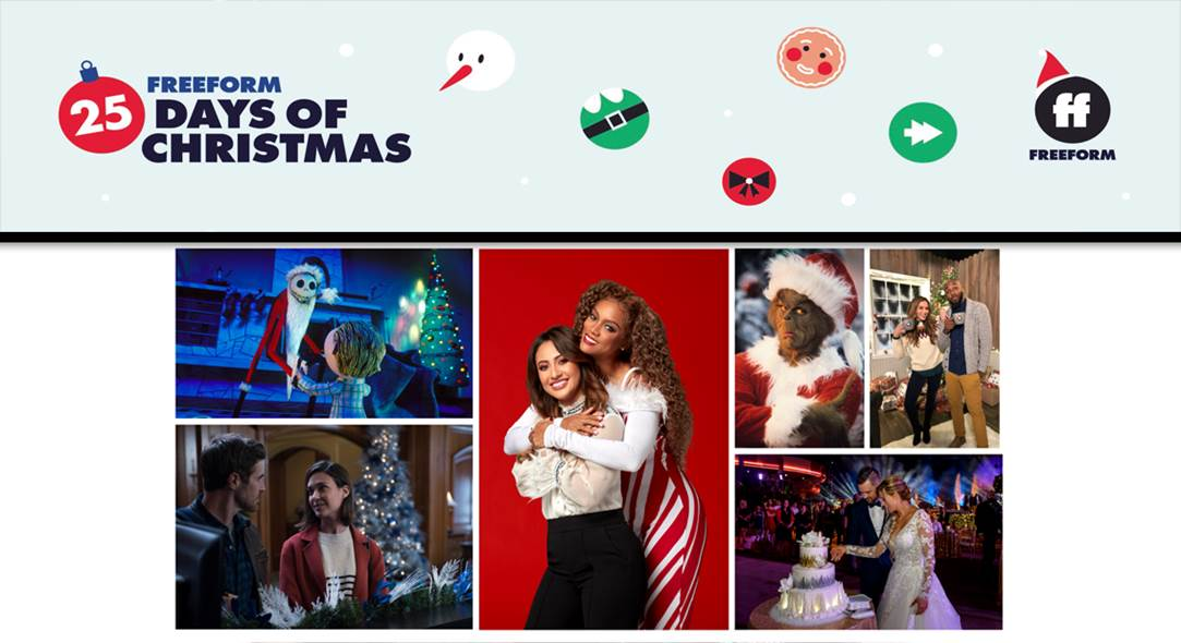 Freeform's 25 Days of Christmas Movies 2018 Schedule