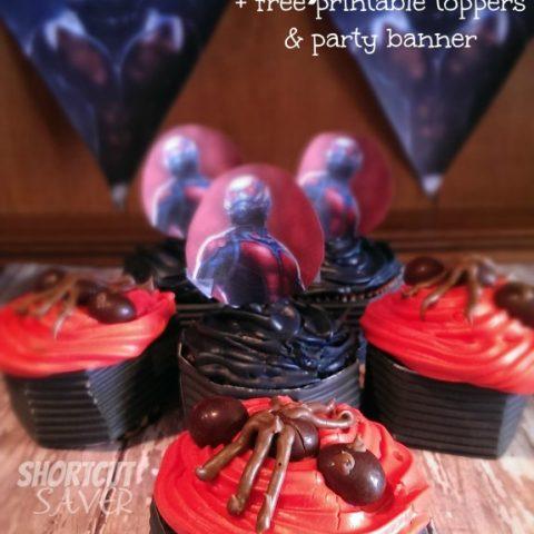 ANT-MAN Cupcakes