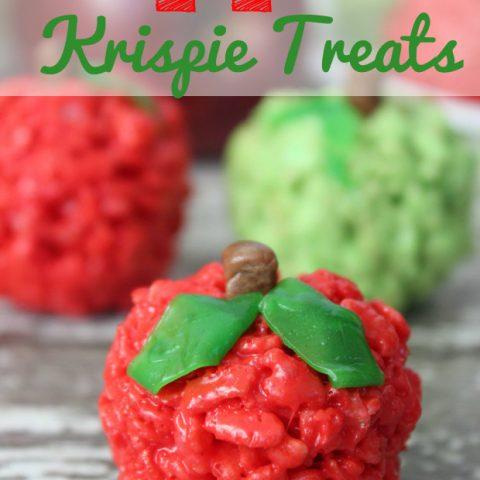 Apple Krispie Treats