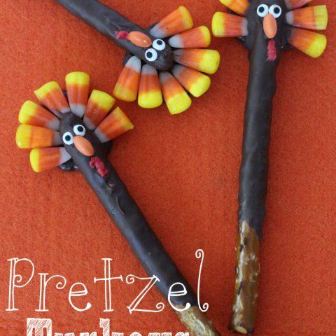 Pretzel Turkeys