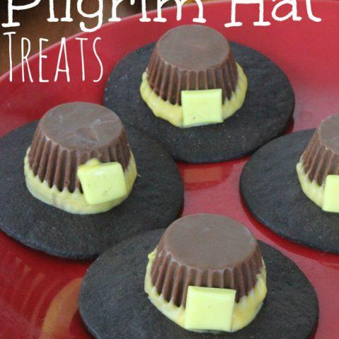 Reese's Pilgrim Hat Treats