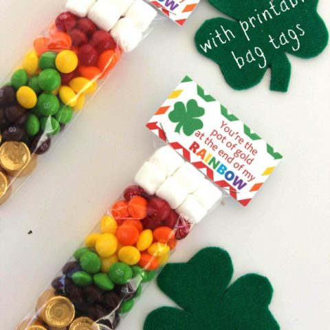 St. Patrick's Day Rainbow Treat Bags