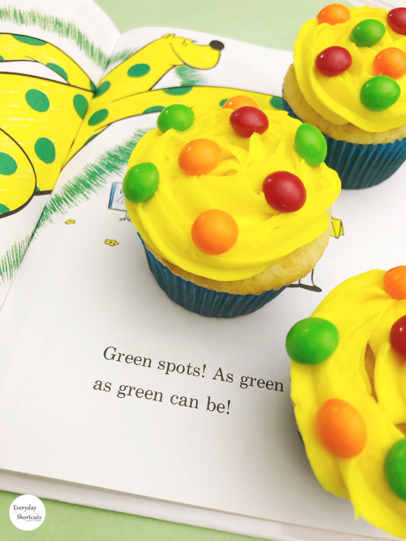 Dr. Seuss Put Me In The Zoo Cupcakes