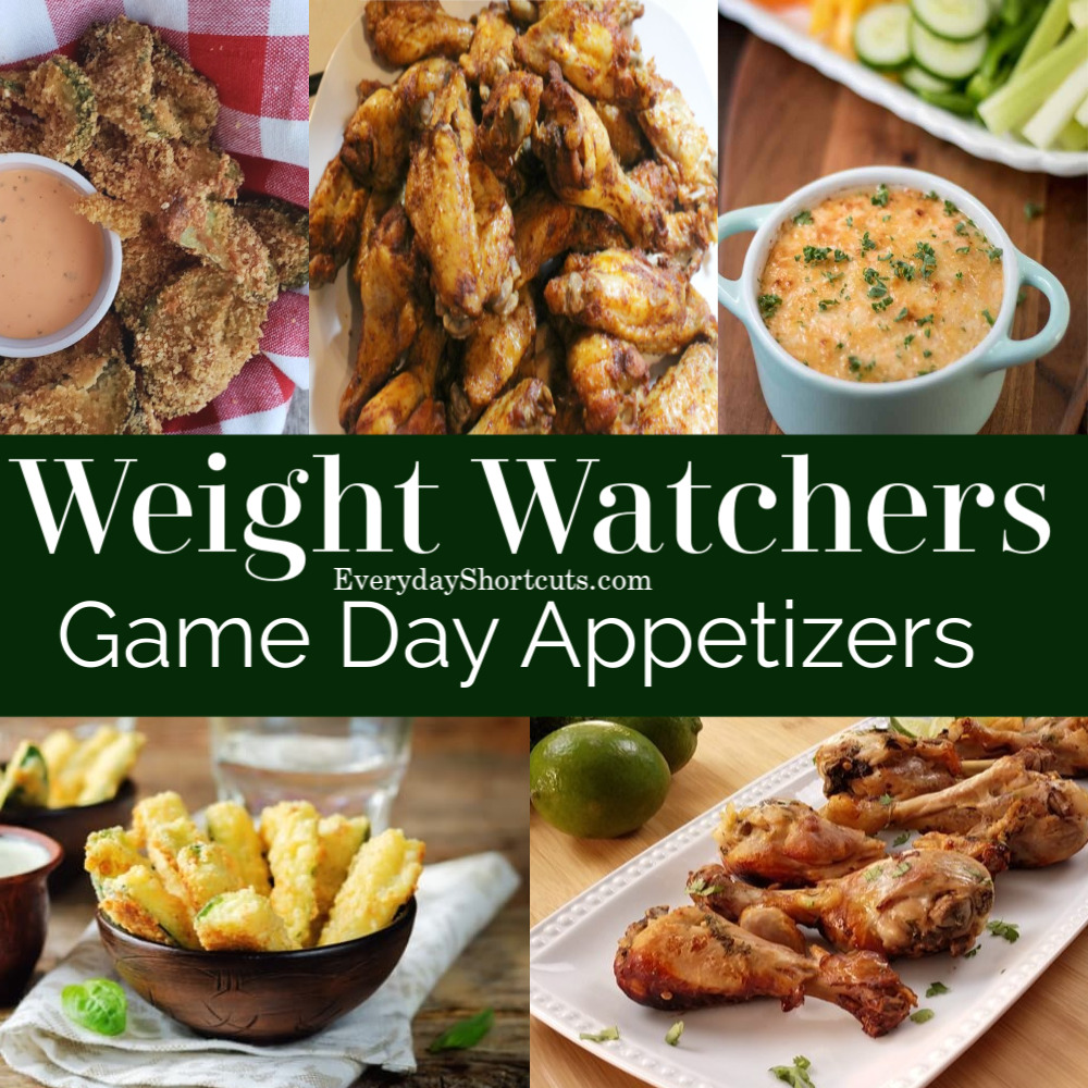 Weight Watchers Game Day Appetizers