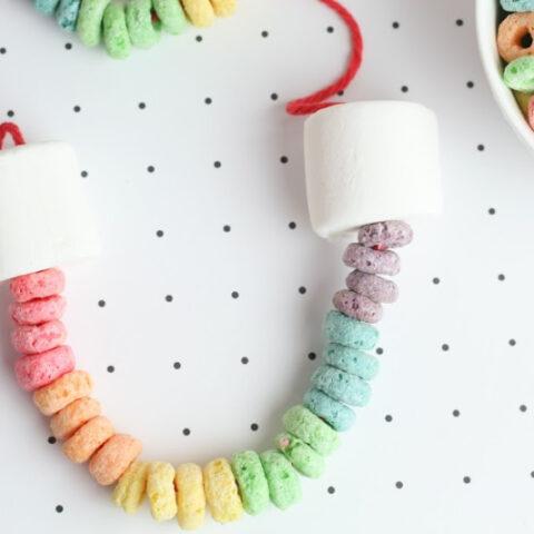 Rainbow Edible Necklace
