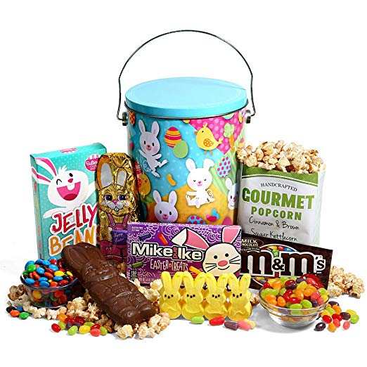 Easter Gift Tin of Chocolate and Candy Image