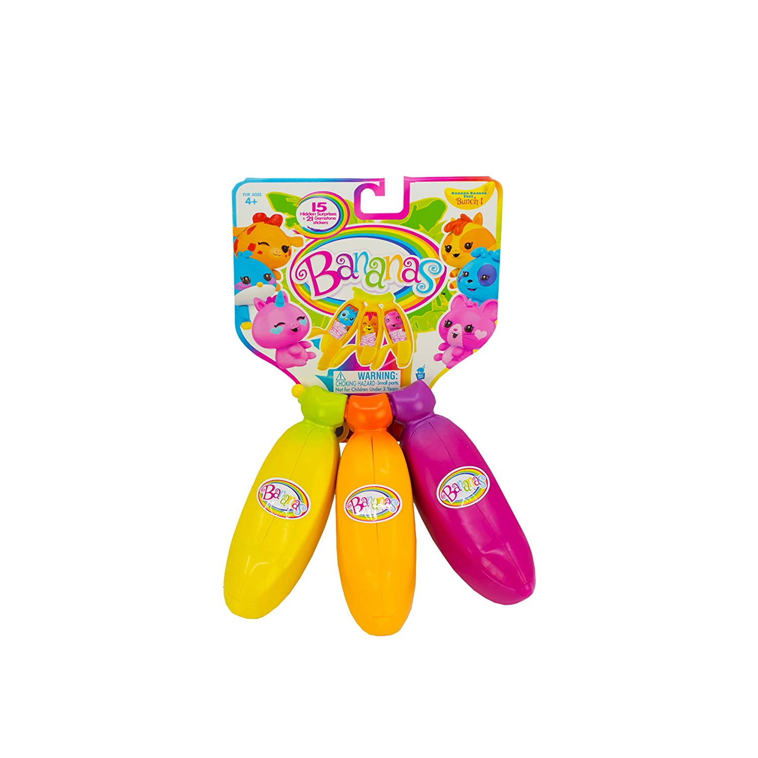 BANANAS 3 Pack Collectible Toy Image