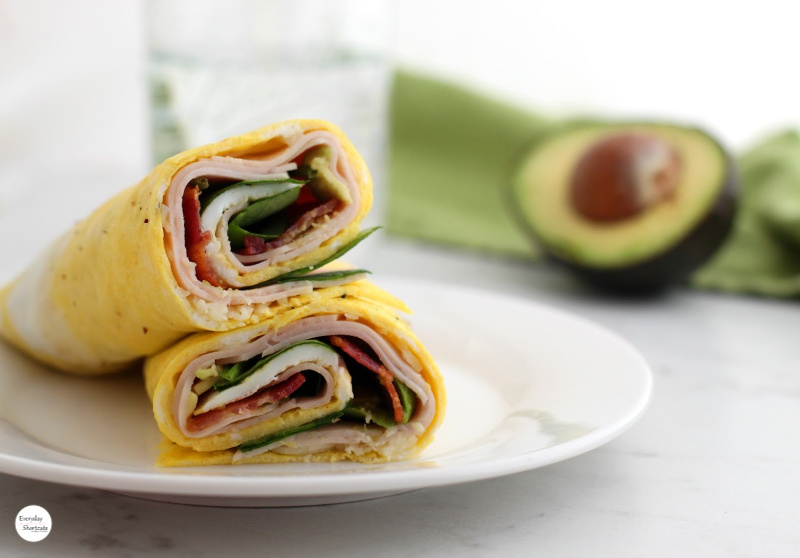 low carb egg wrap