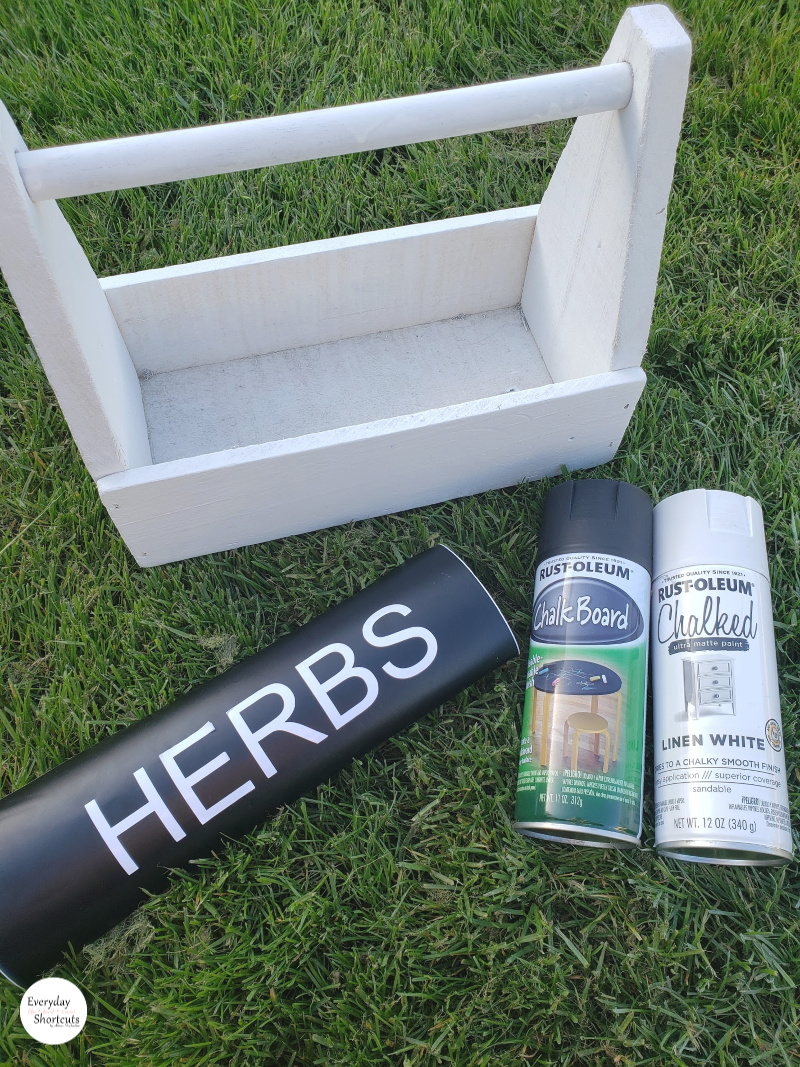 herbs garden box supplies