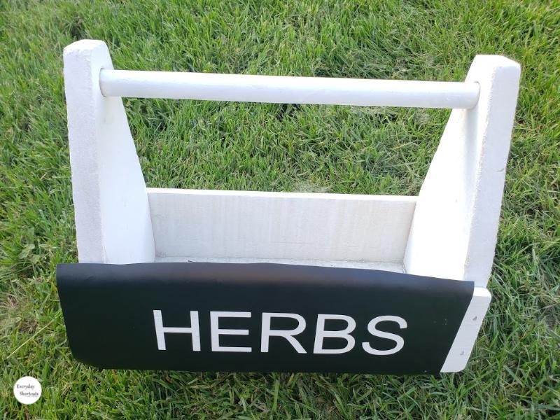 herbs stencil