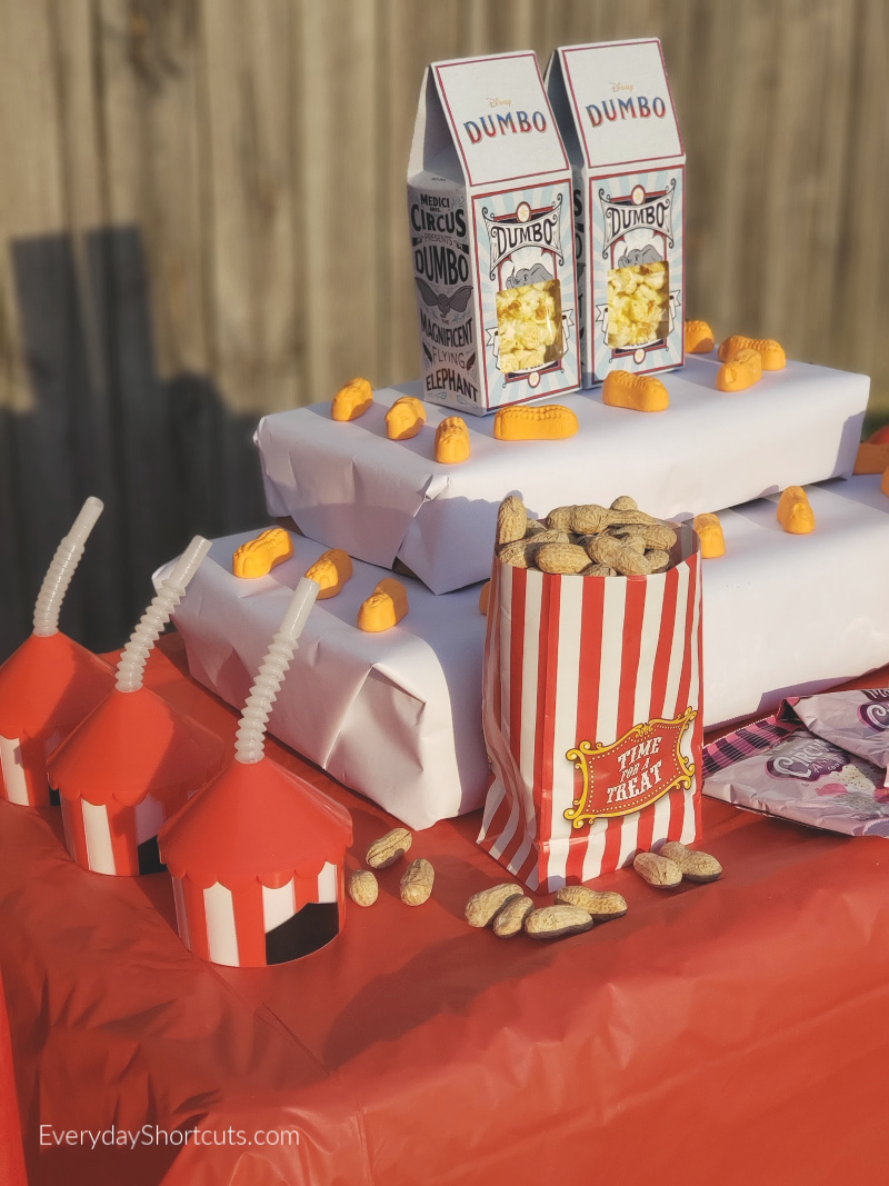 circus themed party food