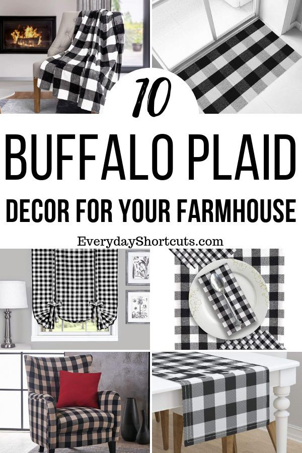 Buffalo Plaid Decor