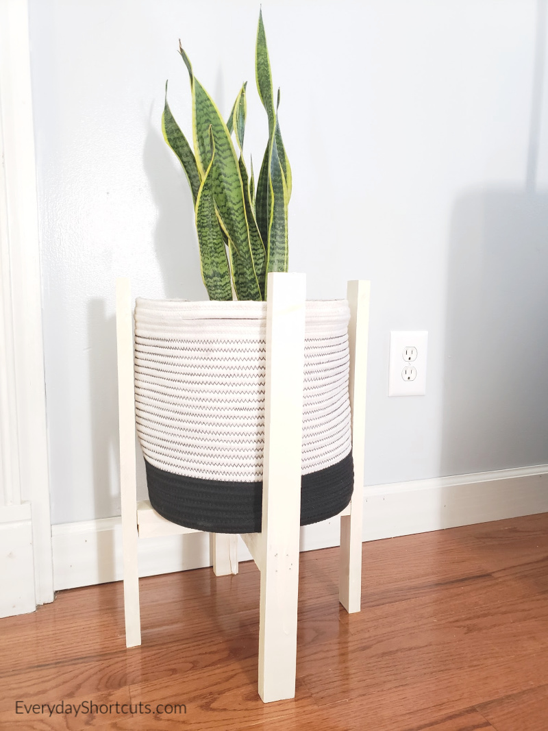 do it yourself plant stand