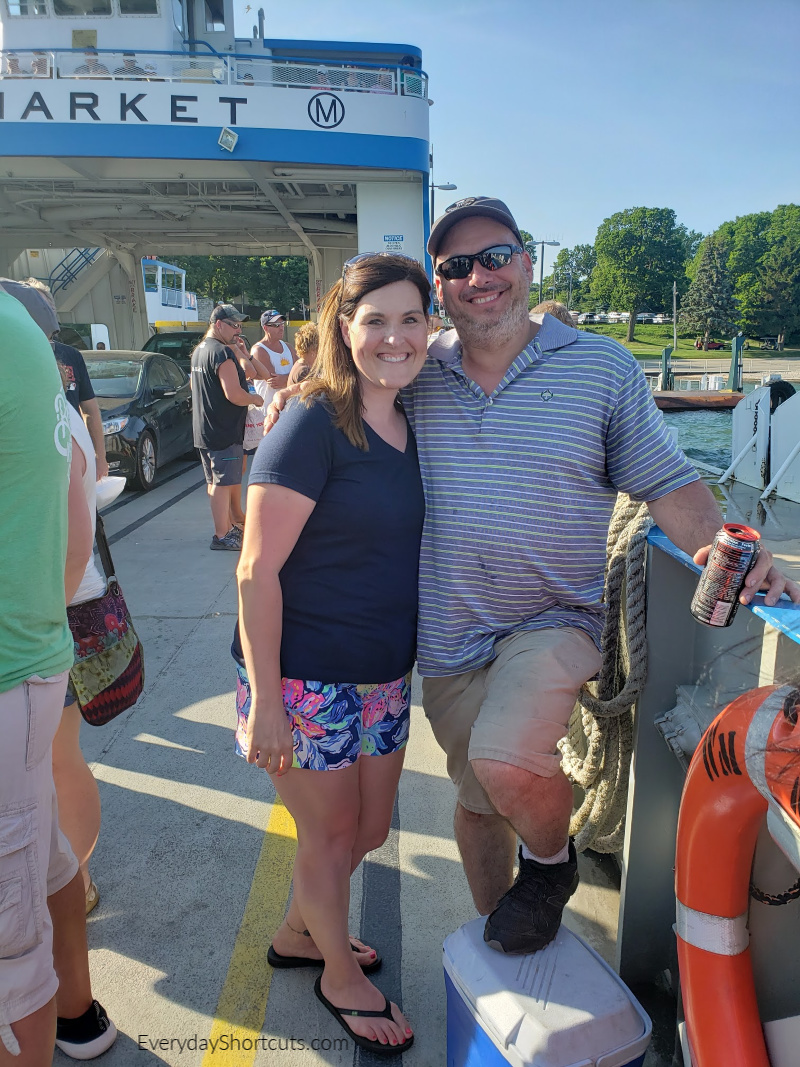 couples getaway on the miller ferry