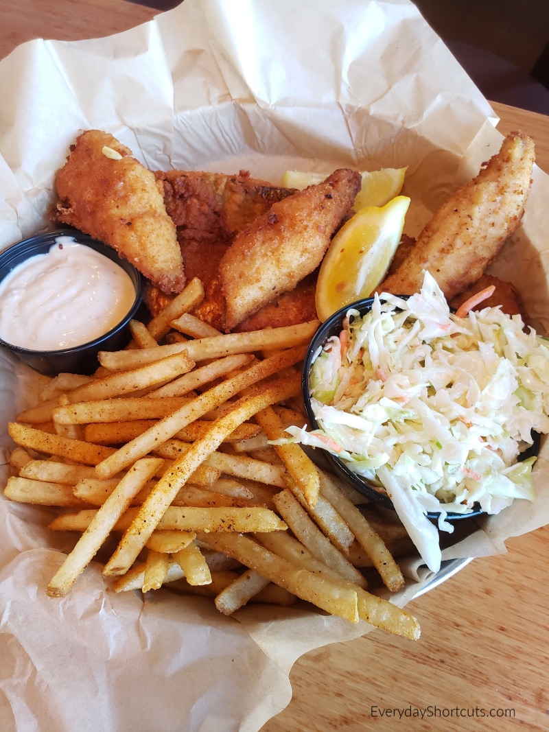 perch and walleye meal