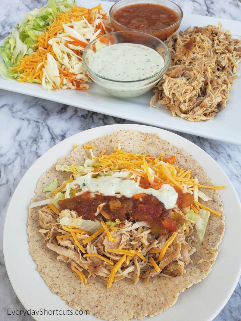 street tacos with chicken