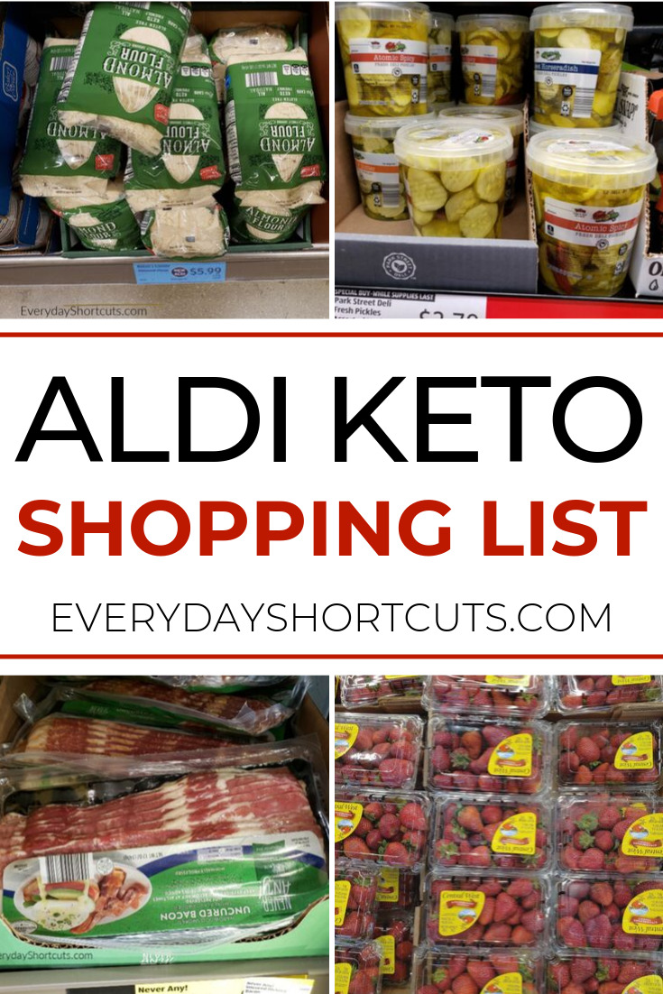 Aldi Keto Shopping List