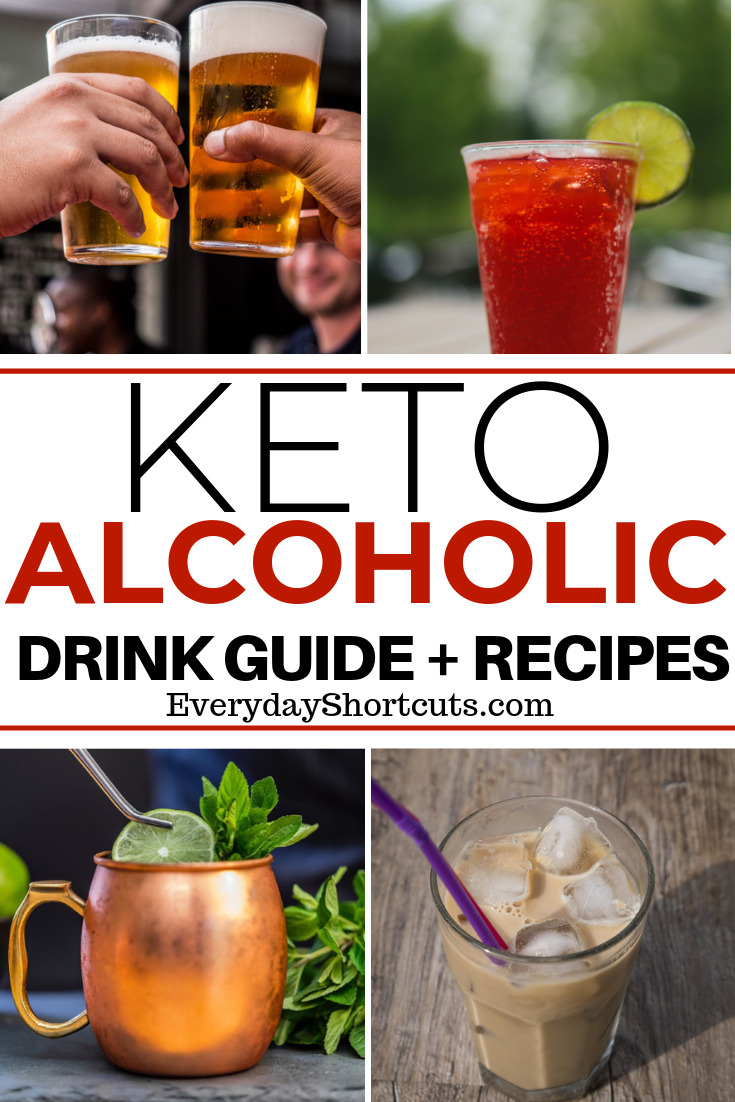 Keto Alcoholic Drink Guide