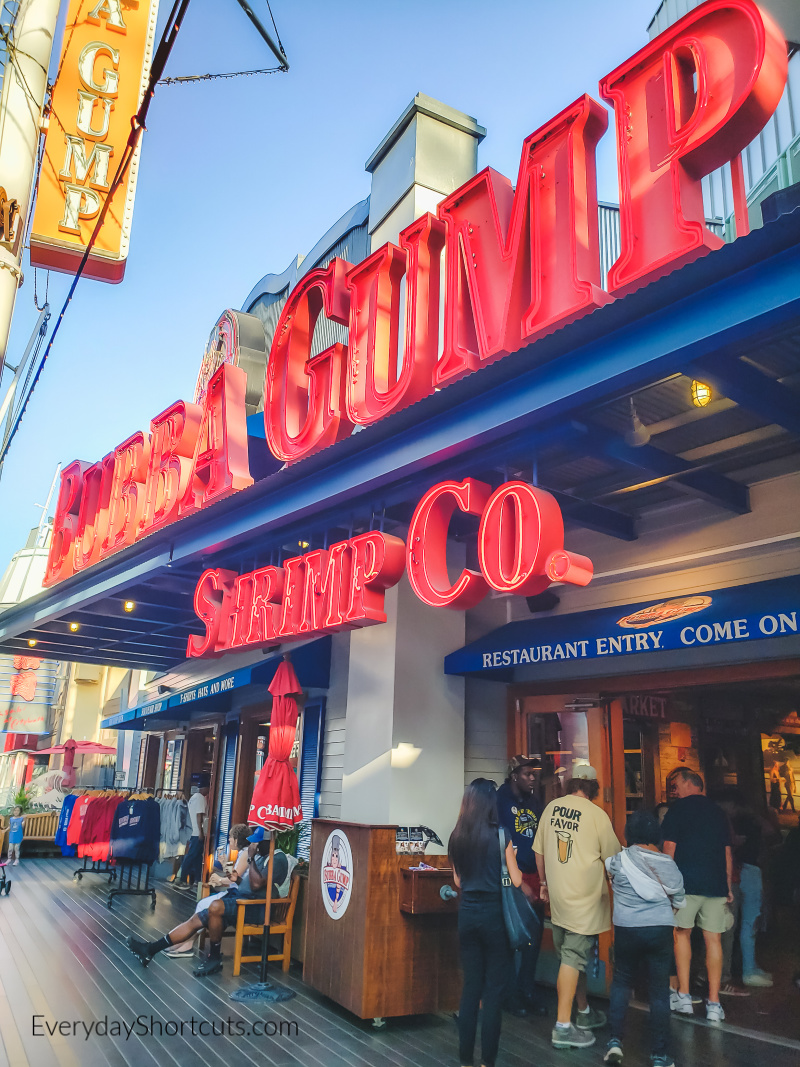 bubba gump shrimp co review in hollywood