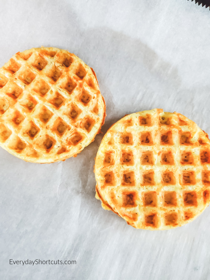 how to make pepperoni pizza chaffles