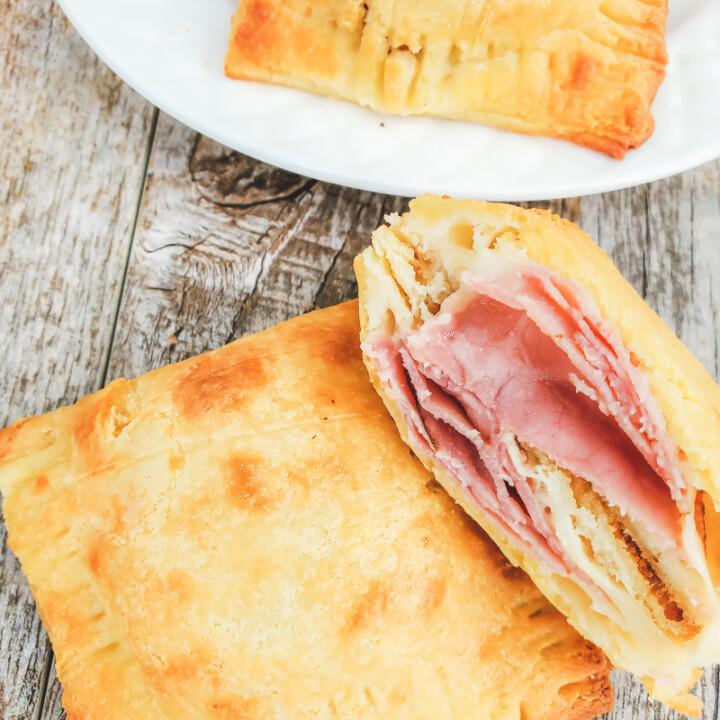 Keto Ham and Cheese Pockets