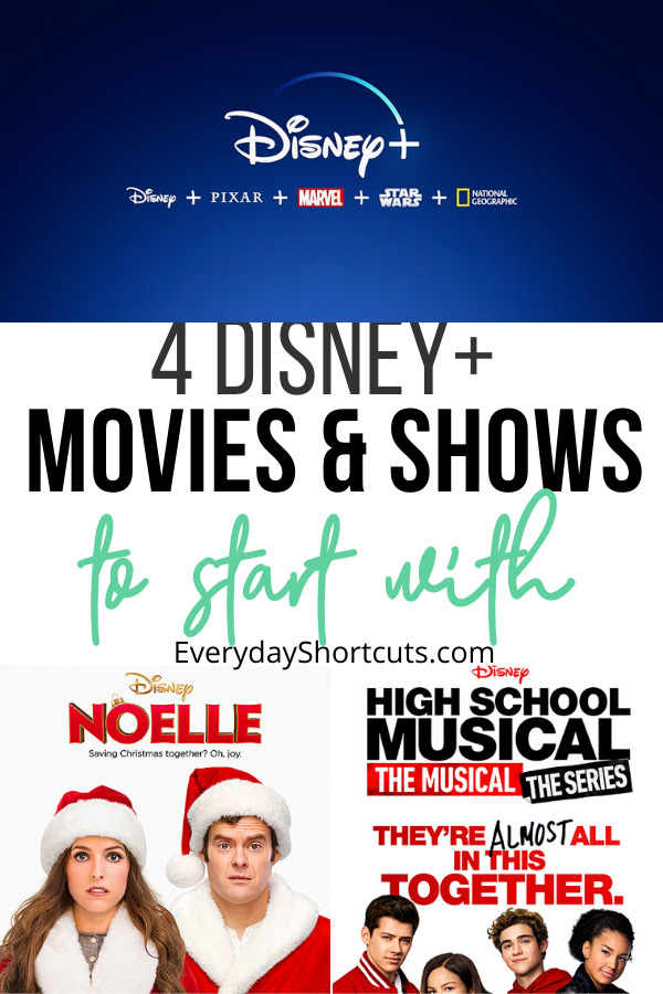 Disney Movies and Shows to Start With