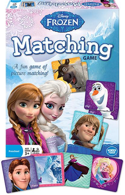Disney Frozen Matching Game Image